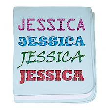 Jessica baby blanket