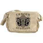 Skin Cancer Survivor Messenger Bag