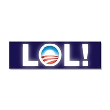 Obama Parody Car Magnet 10 x 3