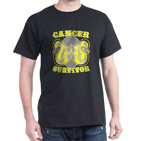 Sarcoma Cancer Survivor Dark T-Shirt