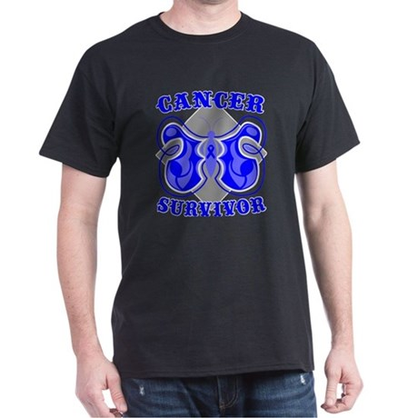 Rectal Cancer Survivor Dark T-Shirt