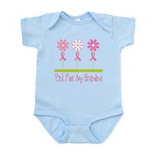 Pink Ribbon For My Grandma Infant Bodysuit
