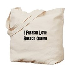 Cute President obama Tote Bag