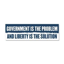 Government Is The Problem Car Magnet 10 x 3