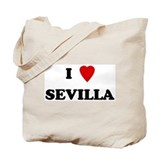I Love Sevilla Tote Bag