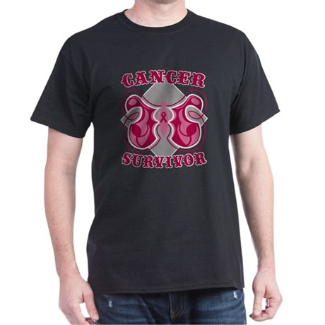 Multiple Myeloma Survivor Dark T-Shirt