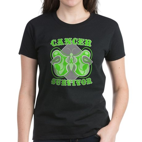 Lymphoma Survivor Women's Dark T-Shirt