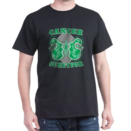 Liver Cancer Survivor Dark T-Shirt