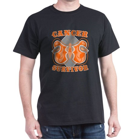 Leukemia Cancer Survivor Dark T-Shirt