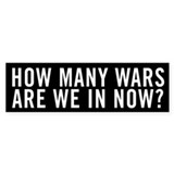 Unique Anti war Bumper Sticker