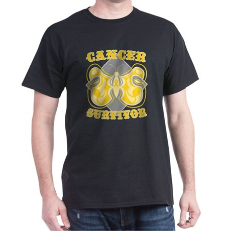 Childhood Cancer Survivor Dark T-Shirt