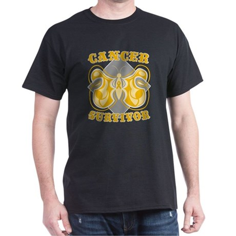 Appendix Cancer Survivor Dark T-Shirt
