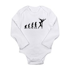 Evolution ballet Long Sleeve Infant Bodysuit