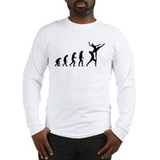 Evolution ballet Long Sleeve T-Shirt