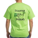 Scooter T-Shirt - Scooting with Scissors