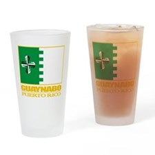 Guaynabo Flag Drinking Glass