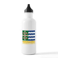 Mayaguez Flag Water Bottle