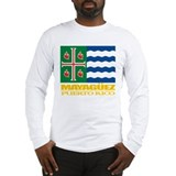 Mayaguez Flag Long Sleeve T-Shirt