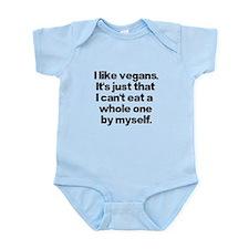 Anti Vegan Shirt Infant Bodysuit