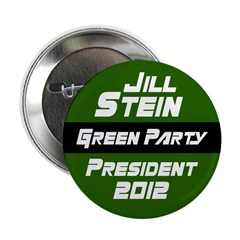 Jill Stein for President 2012 political button