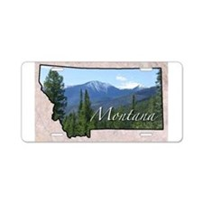 Cute Montana Aluminum License Plate