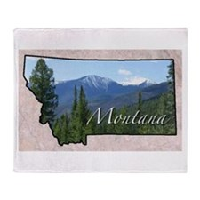 Cute Montana Throw Blanket