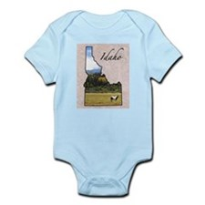 Cute Idaho state Infant Bodysuit