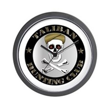 Emblem - Taliban Hunting Club Wall Clock