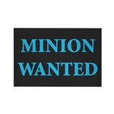 Minion Wanted Rectangle Magnet