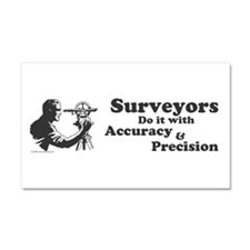 SurveyorsDoIt Car Magnet 20 x 12