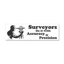 SurveyorsDoIt Car Magnet 10 x 3