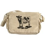 Spotted Cow Messenger Bag