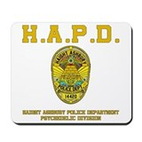 HAIGHT ASHBURY POLICE DEPT. Mousepad