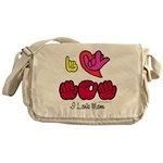 I-L-Y Mom Messenger Bag