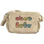 Pastel SIGN BABY SQ Messenger Bag