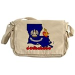 ILY Louisiana Messenger Bag