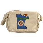 ILY Minnesota Messenger Bag