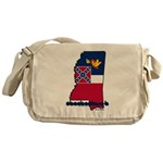 ILY Mississippi Messenger Bag