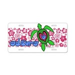 ILY Aloha Hawaii Turtle Aluminum License Plate
