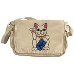 ILY Neko Cat Messenger Bag