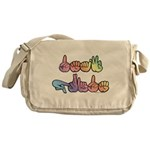 Deaf Pride Pastel Messenger Bag