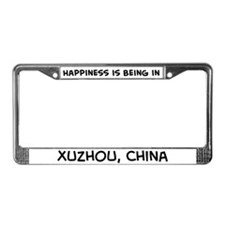 Happiness is Xuzhou License Plate Frame