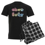 Pastel SIGN BABY SQ Men's Dark Pajamas