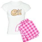 OrangeTabby ASL Kitty Women's Light Pajamas