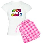 Got ASL? Rainbow SQ CC Women's Light Pajamas