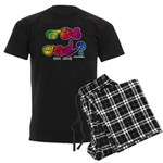 Got ASL? Rainbow SQ CC Men's Dark Pajamas