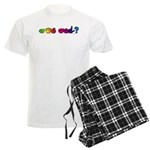 Got ASL? Rainbow Men's Light Pajamas