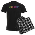 Got ASL? Rainbow Men's Dark Pajamas