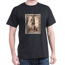 Minuteman Black T-Shirt