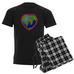 Earth Heart Men's Dark Pajamas